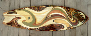Custom Swirl Board
